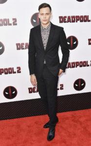 Билл Скарсгард на премьере фильма «Дэдпул 2» в Нью-Йорке, 14 мая 2018 г.