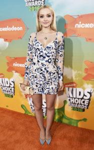 Дав Камерон на церемонии Nickelodeon's 2016 Kids' Choice Awards в Инглвуде, 12 марта 2016 г.