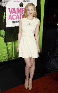 Дав Камерон на премьере фильма «Академия вампиров» в Лос-Анджелесе, 4 февраля 2014 г.