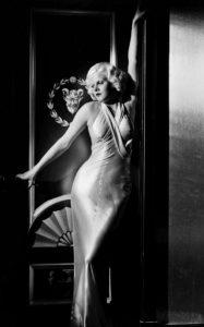 Джин Харлоу в фильме «Обед в восемь», 1933 г.