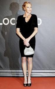 Мелани Гриффит на премьере фильма «Люси» в Локарно, Швейцария, 6 августа 2014 г.