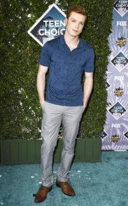 Камерон Монахэн на церемонии Teen Choice Awards 2016 в Инглвуде, 31 июля 2016 г.