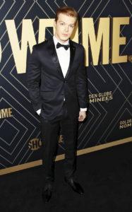 Камерон Монахэн на празднике в честь номинантов на «Золотой глобус» в Западном Голливуде, 4 января 2020 г.