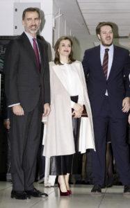 Король Фелипе VI, Королева Летиция на праздновании 40-летия компании Zeta Group в Мадриде, 12 декабря 2016 г.