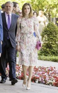Королева Летиция на церемонии вручения стипендий Iberdrola 2016, 5 июля 2016 г.