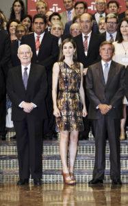 Королева Летиция на ежегодном собрании директоров Института Сервантеса в Мадриде, 27 июля 2016 г.