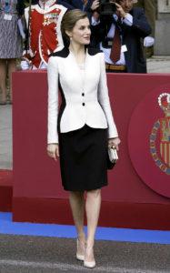 Королева Летиция на праздновании Дня армии в Мадриде, 28 мая 2016 г.