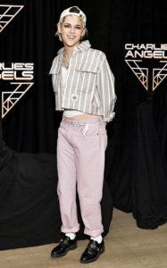 Кристен Стюарт на фотоколле к фильму «Ангелы Чарли» в Нью-Йорке, 7 ноября 2019 г.
