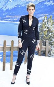 Кристен Стюарт на показе Chanel Womenswear Осень/Зима 2019/2020, в рамках Парижской недели моды, 5 марта 2019 г.