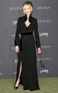 Мелани Гриффит на гала-концерте LACMA Art + Film в честь Роберта Ирвина и Кэтрин Бигелоу в Лос-Анджелесе, 29 октября 2016 г.