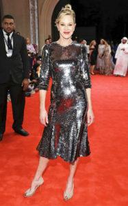 Мелани Гриффит на красной дорожке фильма «Пасьянс» в рамках 13-го Дубайского международного кинофестиваля, 11 декабря 2016 г.