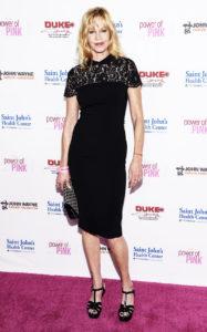 Мелани Гриффит на программе Power of Pink 2014 в рамках Программы профилактики рака, 23 октября 2014 г.