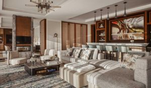 Гостиная в Люксе Suite One на курорте One&Only Portonovi