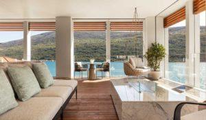 Балкон в Люксе Suite One на курорте One&Only Portonovi