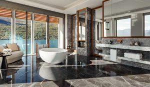 Ванная в Люксе Suite One на курорте One&Only Portonovi