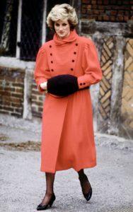 Диана, принцесса Уэльская встречается с представителями общественности