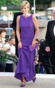 Фиолетовый образ Принцессы
