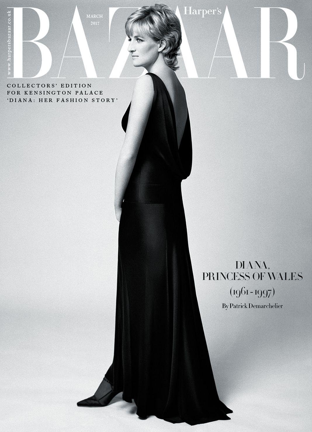 На обложке журнала Harper's Bazaar