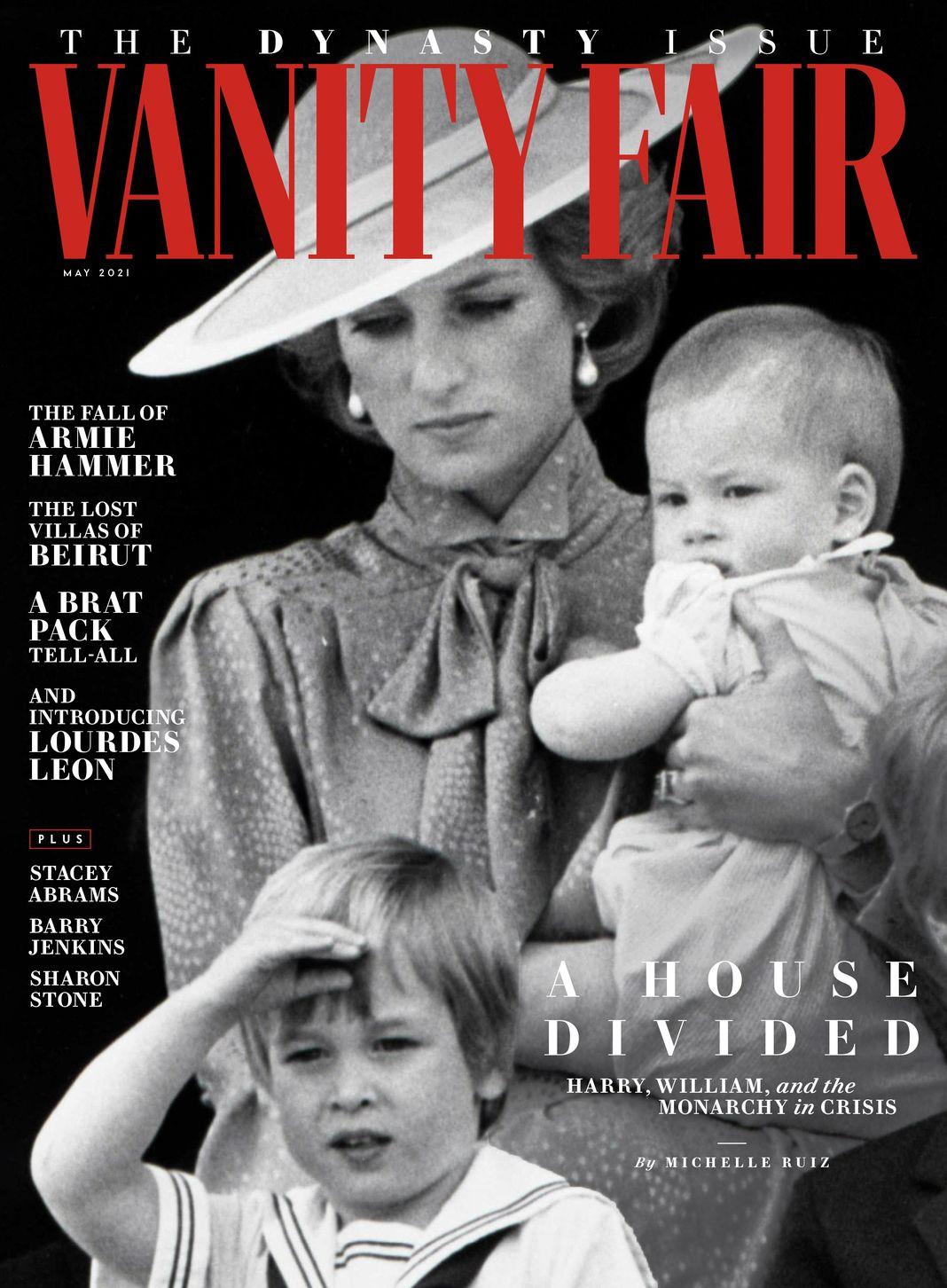 На обложке журнала Vanity Fair