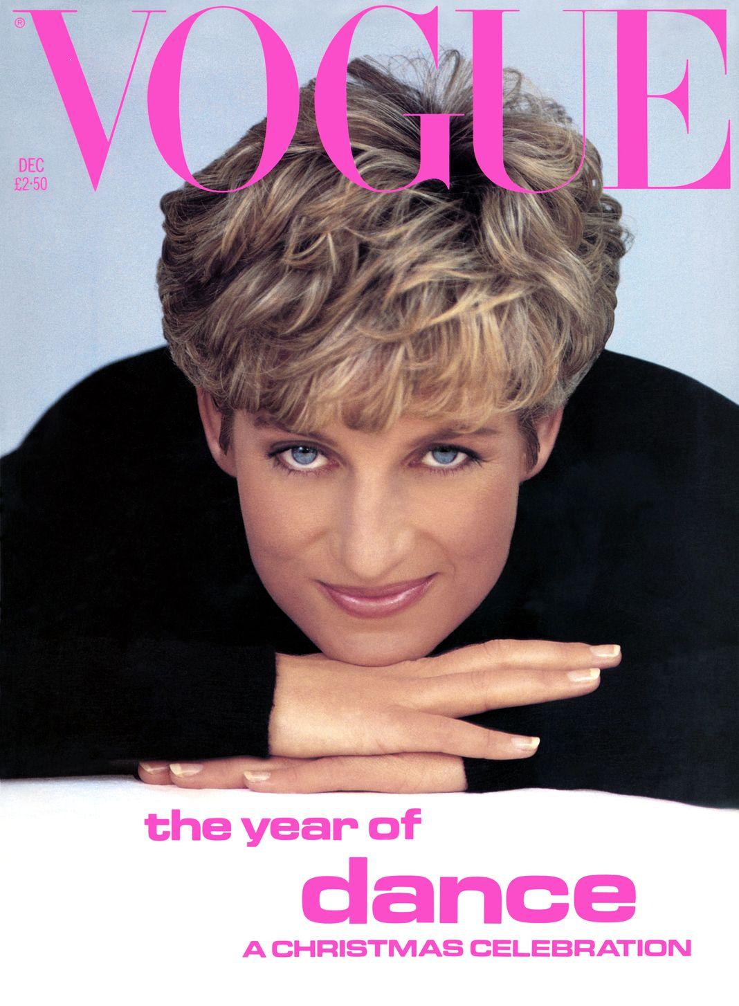 На обложке журнала Vogue British