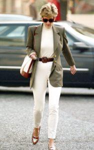 Принцесса Диана отправляется за покупками в Найтсбридже